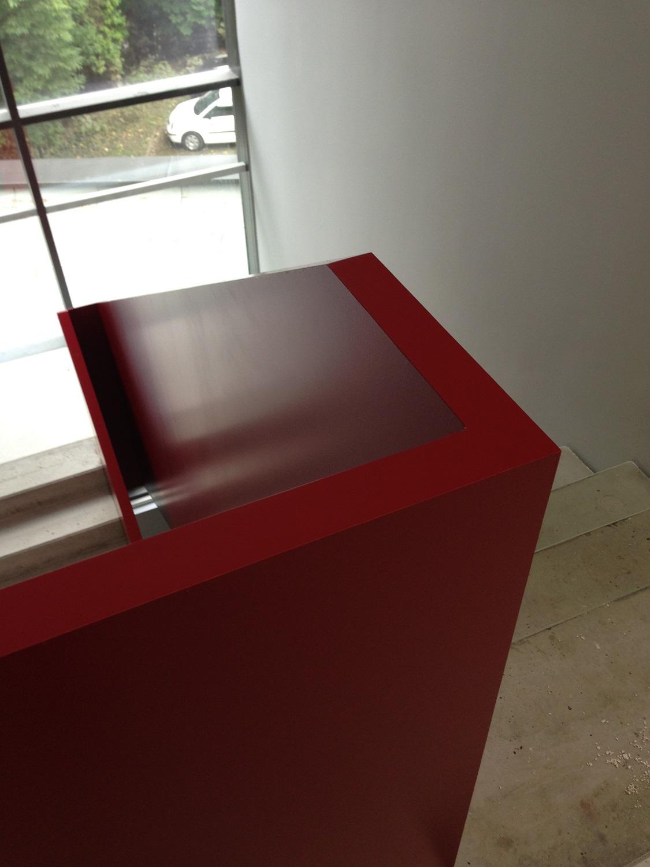 treppengel nder blech metallteile verbinden. Black Bedroom Furniture Sets. Home Design Ideas